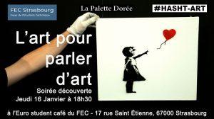 """Soirée découverte du module """"L'art pour parler d'art"""" @ EuroStudentCafé"""